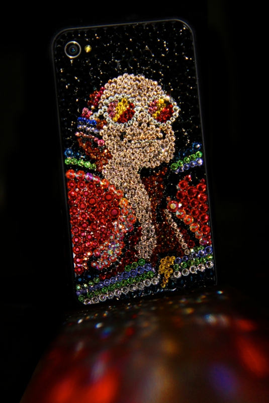 My blinged out iPhone case!